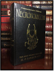 Necronomicon by H.P. Lovecraft Commemorative New Deluxe Leather Bound Hardback