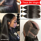 Unprocessed 9A Thick 3 Bundles Virgin Human Hair With 360 Frontal Closure F251