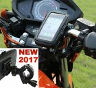 Waterproof Motorcycle Handlebar Mount Holder Case iPhone Phone Samsung  GPS