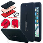 Slim Hybrid Shockproof Ring Holder Kickstand Case Cover For iPhone 6 6s 7 Plus