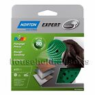 5pc NORTON Punched Perforated Mutli Air Vented Sanding Discs Pads 125mm 80 Grit
