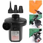 12V AC Electric Air Pump Inflator W/ Nozzles For Toys Boat Air Bed Mattress Pool