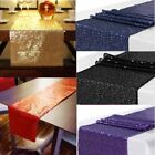 Sequin Satin Table Runner Glitter Bar Wedding Party Banquet Venue Decor 30X275cm