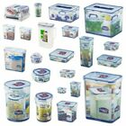 Lock and & Lock Plastic Food Storage Containers Cake Lunch Box Cereal Sandwiches