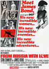 From Russia With Love - 1963 - Movie Poster $14.99 USD on eBay