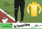 Torwart-Set: Alpas Torwarthose + Uhlsport Torwarttrikot Club gelb Gr. L XL NEU