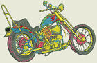 Motorcycle Embroidery Designs - 56 Designs - CD/USB/Floppy - 11 Formats