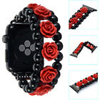 Agate carved Bracelet Watch Band Strap for Apple Watch iWatch Series 1 2 42/38