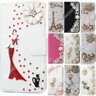 Rhinestone PU Leather Wallet Case Bling Diamond Cover For Samsung S4 5Mini G5308