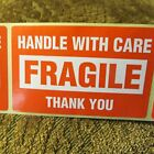 "Handle With Care Fragile Thank You 2""x3"" - Packing Shipping Handling Labels A"