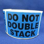 "Do Not Double Stack 2""x3"" - Packing Shipping Handling Warning Label Stickers"