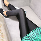 High Waist Slim Skinny Women Leggings Stretchy Pants Jeggings Pencil Pants Black