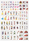Disney Princess Frozen Pony Mickey Mouse Temporary Tattoos Girls Party Stickers