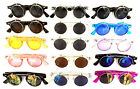 COOL FLIP UP STYLE SUNGLASSES CLEAR LENS NERD RETRO STEAMPUN