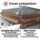 "Canadian Spa Hot Tub Covers - 5"" High Density Core - In Stock - Fast Delivery"