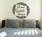 Home Sweet Home Wall Decal Quotes Wall Art Family Decals Rusric Home Decor S98