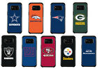 NFL Licensed Slim Hybrid Pebble Grain Case for Samsung Galaxy S8 or Galaxy S8+