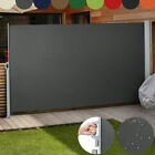 """71"""" x 118"""" Sunshade Patio Retractable Side Awning Folding Screen Privacy Divider"""