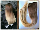 Ombre One Piece Half Full Head Straight Wavy Clip in Hair Extensions Hairpieces