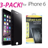 Anti-Spy Peeping Privacy Tempered Glass Screen Protector For iPhone 6 6s 6 7 Plu