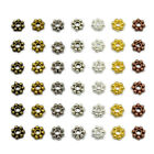 Daisy Flower Snowflake Shaped Spacer Beads Jewelry Making DIY 4mm 6mm 8mm