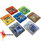 8bitAesthetics Custom Pokemon Carts Gameboy Red Blue Yellow Silver Gold Crystal