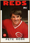 Pete Ross, Reds #741 Topps 1986 Baseball Card (C383)