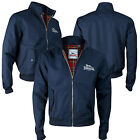 Lonsdale Harrington Jacket Navy Blue Classic England Style Slim-Fit Size 2XL