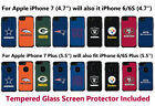 NFL Licensed Hybrid Case & Screen Protector for Apple iPhone 7 or iPhone 7 Plus