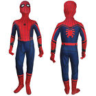 Kid Spider-Man Homecoming jumpsuit superhero cosplay halloween costume toys gift