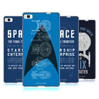 OFFICIAL STAR TREK SHIPS OF THE LINE SOFT GEL CASE FOR HUAWEI PHONES