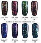 Bluesky GALAXY COLLECTION UV LED Soak Off Gel Nail Polish - Chameleon Flakes