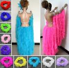 2M Long Thin Feather Boa Fancy Dress Costume Crafting Party Hen Night Home Decor