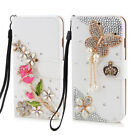 New Style 3D Cute Flip Magnetic Case Cover Diamond Leather Rhinestone Case