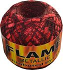 ICE,  ICE Mini Glitz,  Flame or Fire & Ice Metallic Ladder Trellis Ribbon Yarn