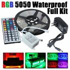 1m-30m Rgb Led Strip Lights + Adapter + Controller Flexible Waterproof Kit Xmas