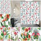 180x180cm Flamingo Bathroom Curtain Thicken Waterproof Shower Curtain New EDUK