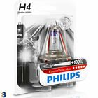 Philips H4 X-treme Vision Moto 60/55W 12V Motorradscheinwerfer 12342XVBW Single