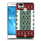 HEAD CASE DESIGNS KNITTED CHRISTMAS BACK CASE FOR ASUS ZENFONE 3 ZOOM ZE553KL