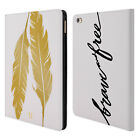 HEAD CASE DESIGNS GRAND AS GOLD LEATHER BOOK WALLET CASE COVER FOR APPLE iPAD