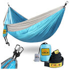 New Portable Double Comfortable Hammocks Outdoor Camping Hiking 2 Person Nylon