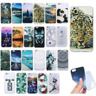 Fashion Painted Ultra-thin Shakeproof Soft TPU Silicone Case Cover For Samsung