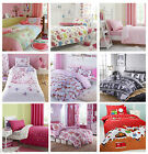 Girls Kids Fitted Sheets, Single Double, Bedding By Catherine Lansfield