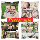 "Cushion Cover HQ Personalised Custom Gift Pillow Cover Photo Print 18"" 20"" 24"""
