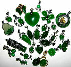 LARGE SELECTION OF GREEN JADE NECKLACES FROG BUTTERFLY HEARTS BUDDHA GIFT IDEA