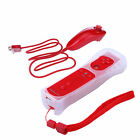 2in1 Built in Motion Plus Remote with Nunchuck Controller+Case for Nintendo Wii