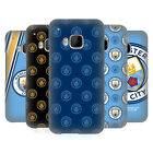 OFFICIAL MANCHESTER CITY MAN CITY FC 2017/18 BADGE BACK CASE FOR HTC PHONES 1