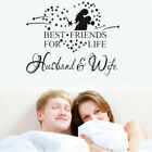Best Friends For Life Husband And Wife Vinyl Wall Sticker