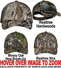 Camo Mesh Back Baseball Cap Hunting Hat Mossy Oak Realtree Hardwoods Xtra NEW!