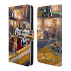 OFFICIAL LONELY DOG ADVENTURE LEATHER BOOK WALLET CASE FOR SAMSUNG PHONES 2